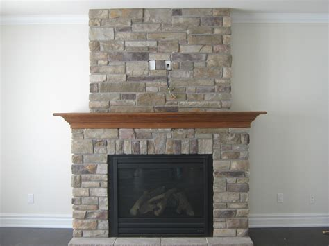 custom fireplace country ledge stone rick