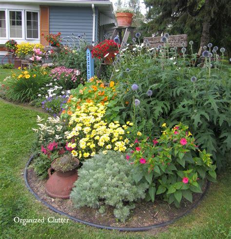 flower gardening afters organized clutter