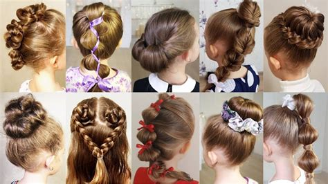 10 cute 1 minute hairstyles busy morning quick