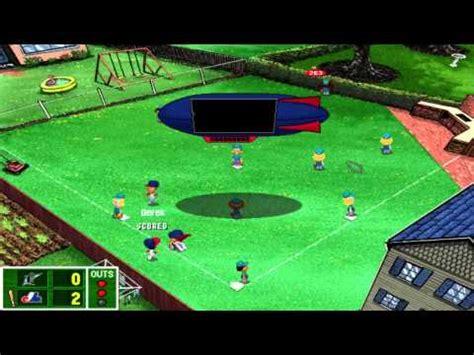 backyard baseball 2001 episode 2 home opener youtube