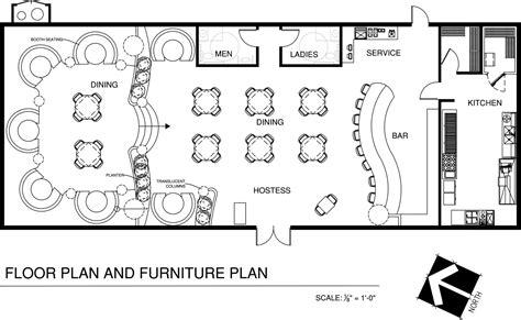 Floor Plan For A Restaurant.html