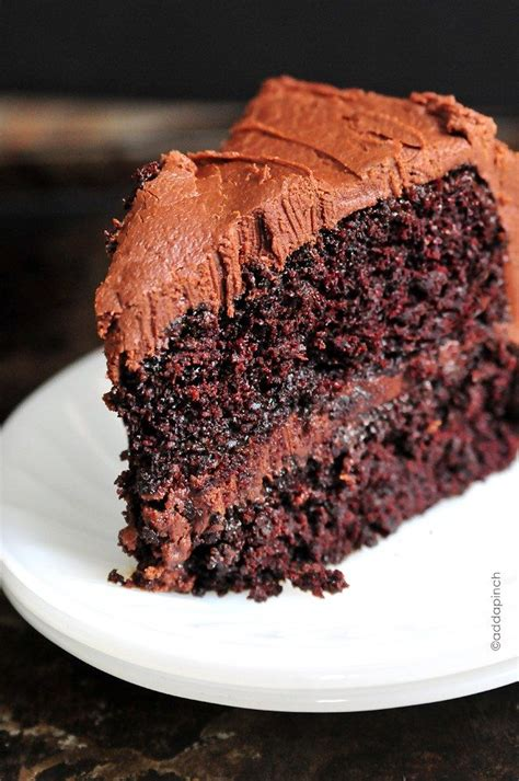 chocolate cake recipe cooking add pinch