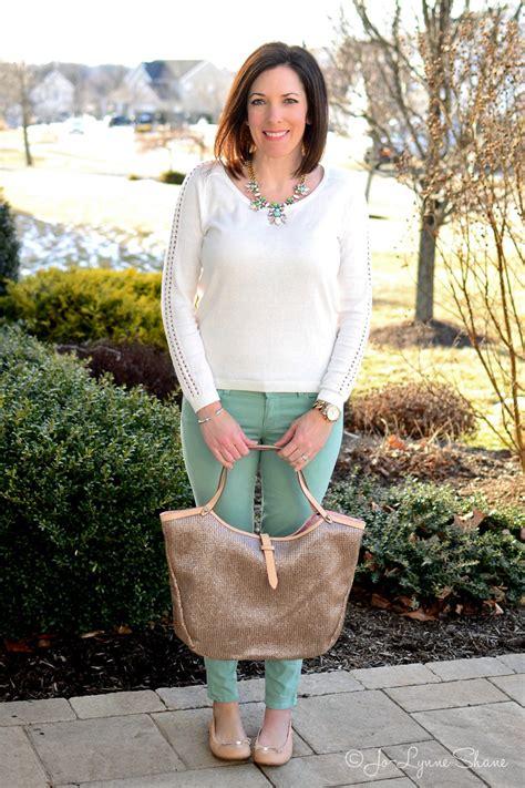 fashion women 40 spring outfit ideas