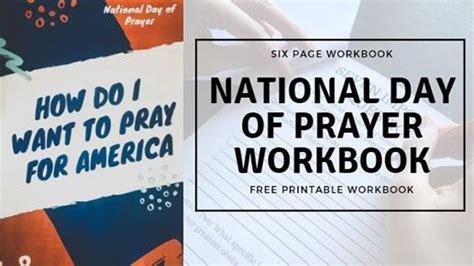 national day prayer preparation workbook education home school