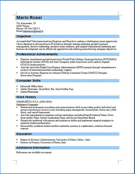 tradurre curriculum vitae inglese essay writing companies