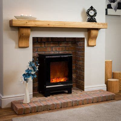rustic curved corbel oak beam mantel shelf oak