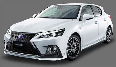 2018 lexus ct 200h trd goodies auto news