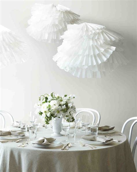 easy paper decorations wedding martha stewart weddings