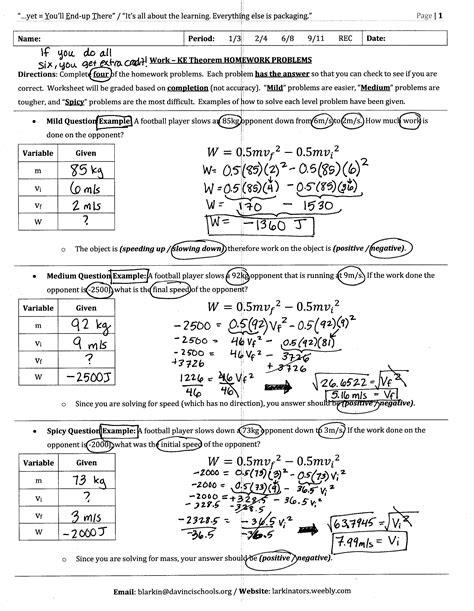 Worksheet 5 Work Energy Theorem.html