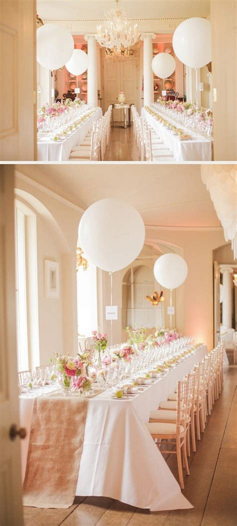 16 romantic wedding decoration ideas balloons page 2