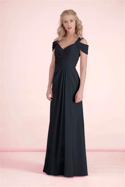 black bridesmaid dresses style wedding hitched