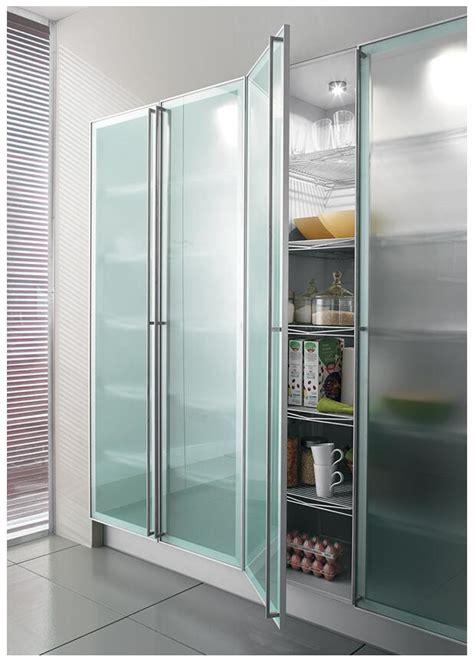 popular customized aluminum frame kitchen cabinet glass doors