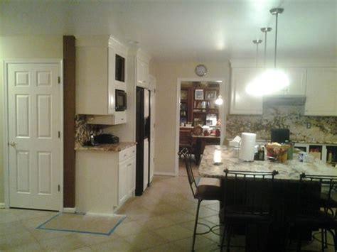paint trim kitchen color walls