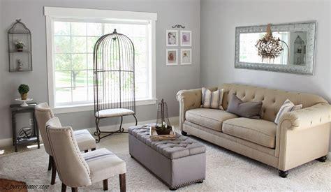 love homes living room reveal benjamin moore wall