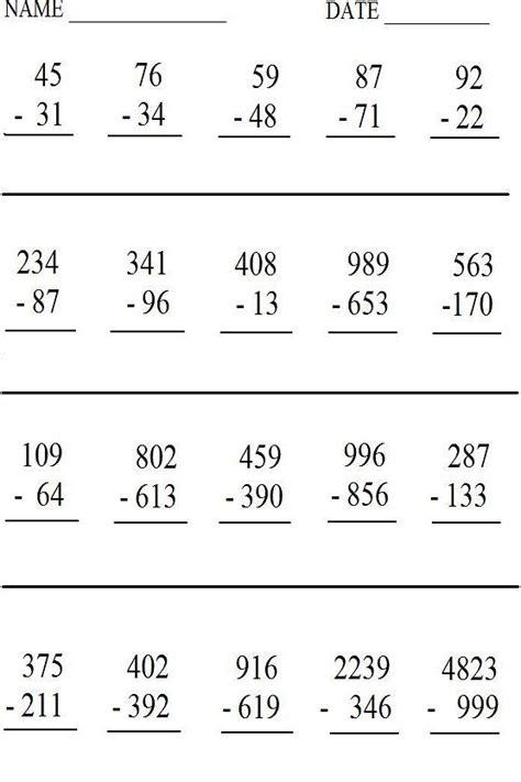 math worksheets printable quizzes study aids