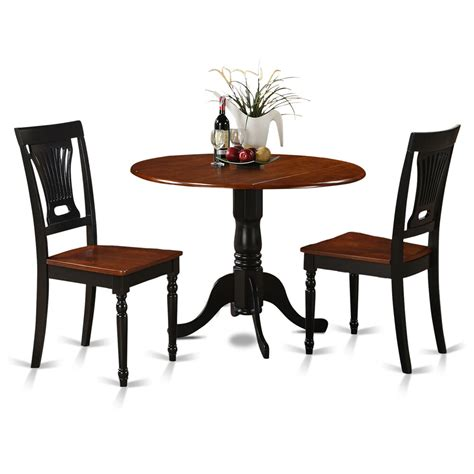 3 piece small kitchen table chairs set table