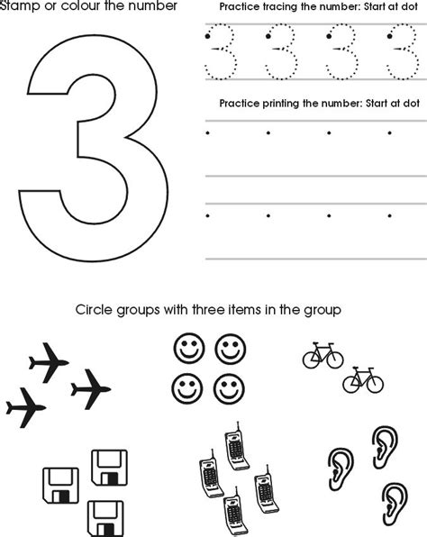 preschool number alphabet tracing printables friends