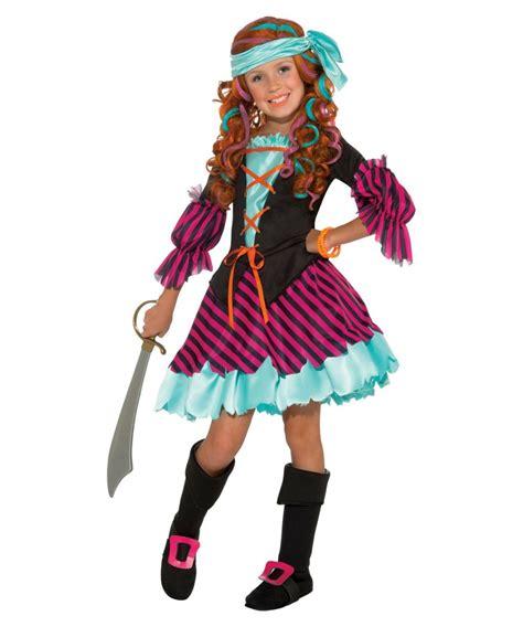 Salty Taffy Girls Pirate Costume