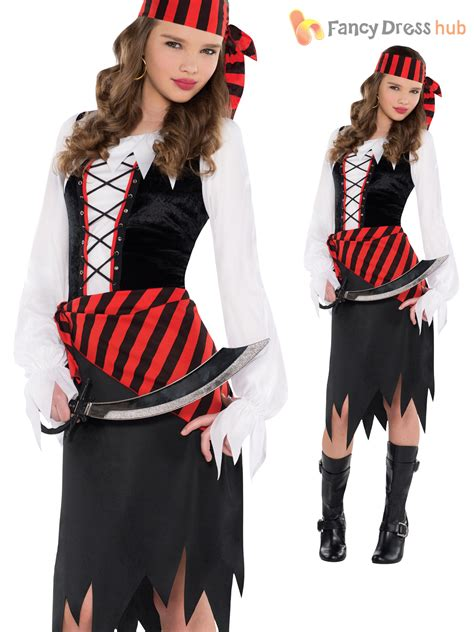 age 8 14 girls pirate caribbean fancy dress