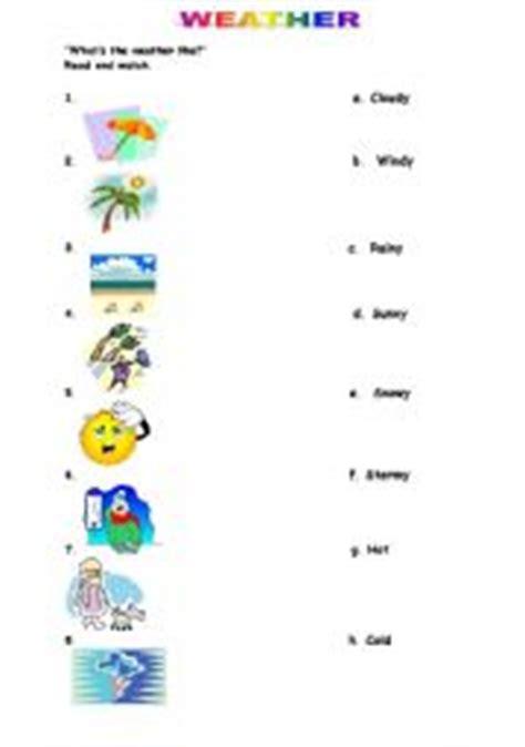 weather worksheet 786 kinds weather printable worksheets