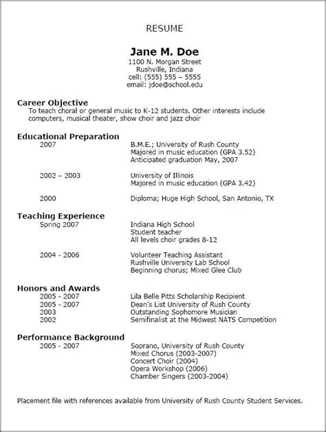 nafme music education resumes images education resume teacher
