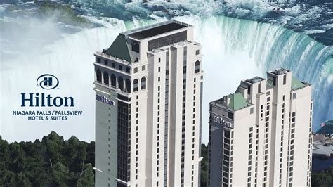 hilton hotel suites niagara falls fallsview property video