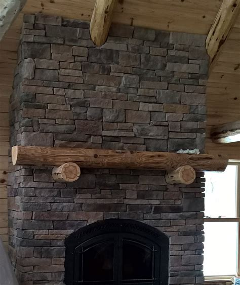 decorative log fireplace mantels red pine wood care