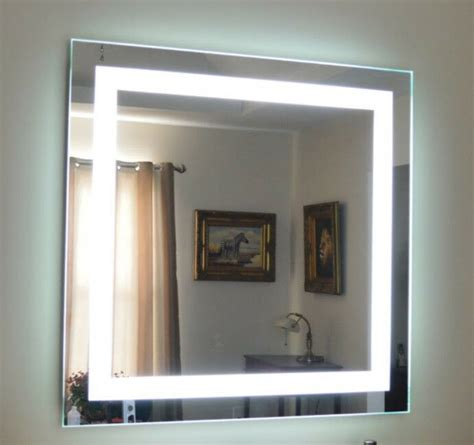 lighted vanity mirrors wall mounted 48 wide 48
