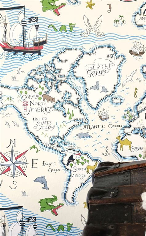 treasure map vanilla multi sanderson wallpaper