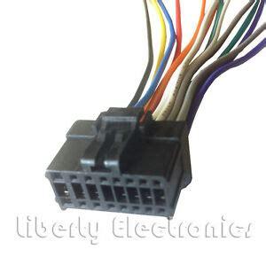 16 pin auto stereo wire harness plug pioneer