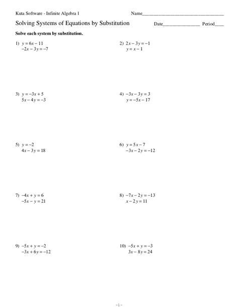 Algebra Substitution Worksheet.html