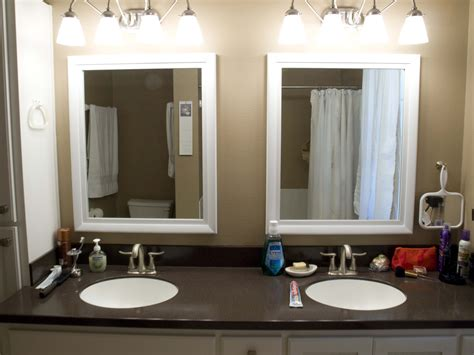 tips framed bathroom mirrors midcityeast