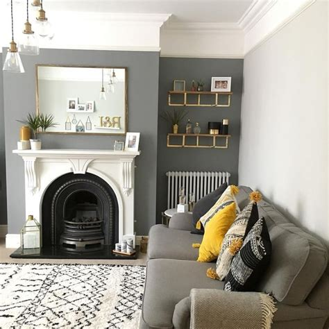 25 grey feature wall ideas pinterest dark grey