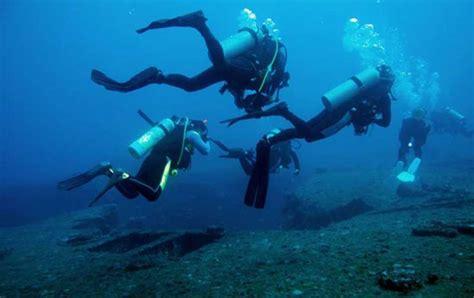 panama city beach scuba diving beaches world