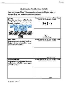 1st grade common core math worksheets 1 oa