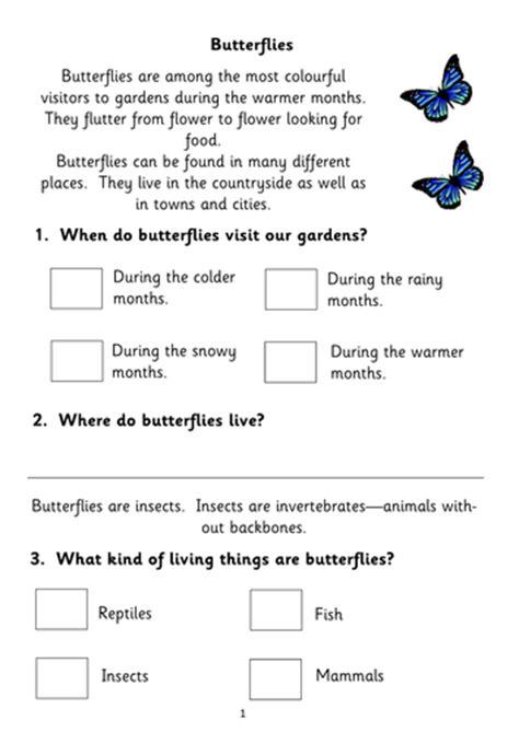 fiction reading comprehension booklets ks1 based popular topics