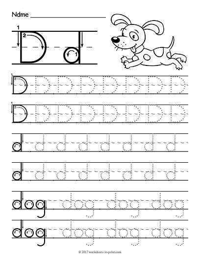 free printable tracing letter worksheet letter worksheet tracing