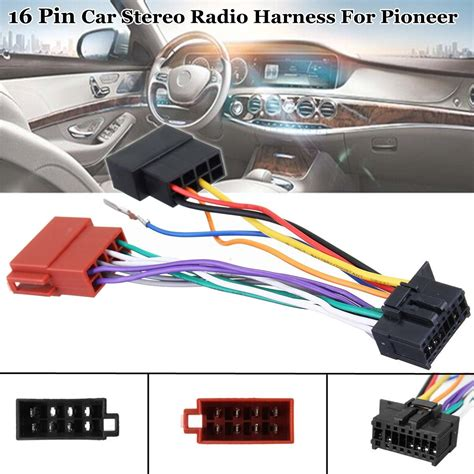 16 pin car stereo radio player iso wiring