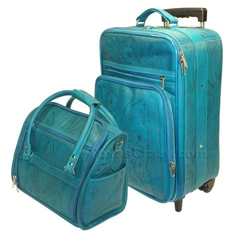 womens leather luggage sets mc luggage