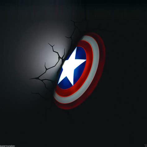 marvel 3d deco light fx avengers captain america