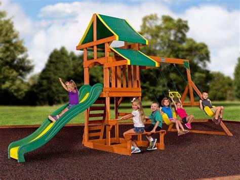 swing sets backyard outdoor playsets children kit kids