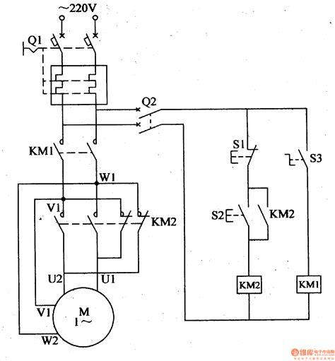 single phase motor controlled circuit automotive circuit circuit