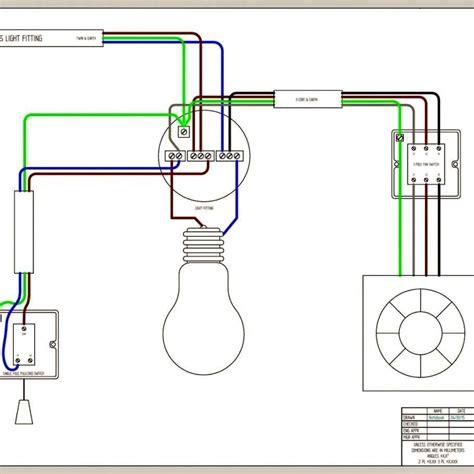 wiring diagram bathroom bathroom fan light