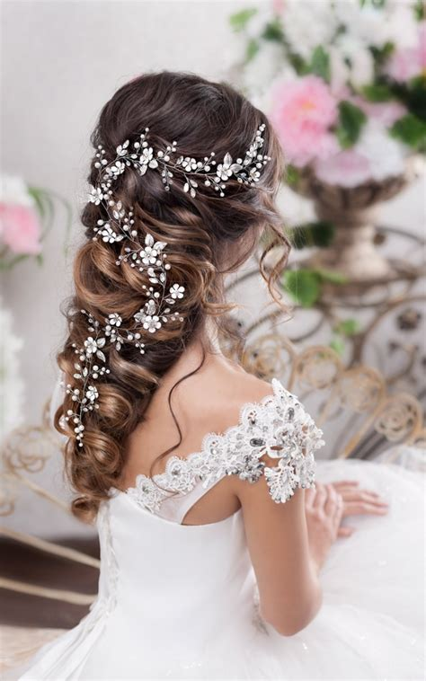 dreamy bridal hair vines beautiful bridal hairstyle inspiration