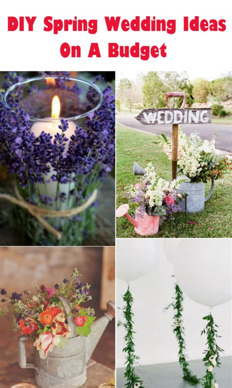 20 creative diy wedding ideas 2016 spring elegantweddinginvites