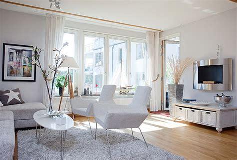 bright apartment view baltic sea home interior design