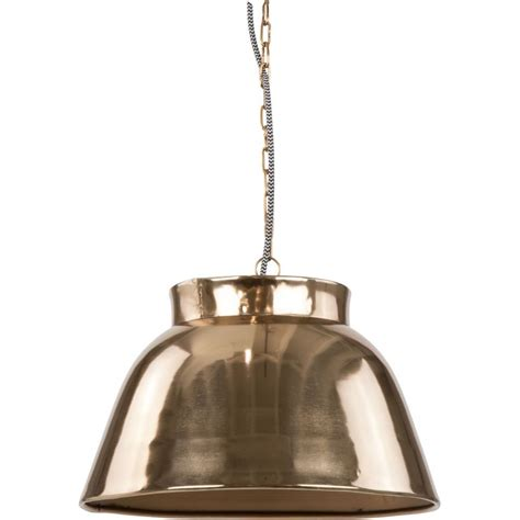 light space ceiling light copper finish great warmth