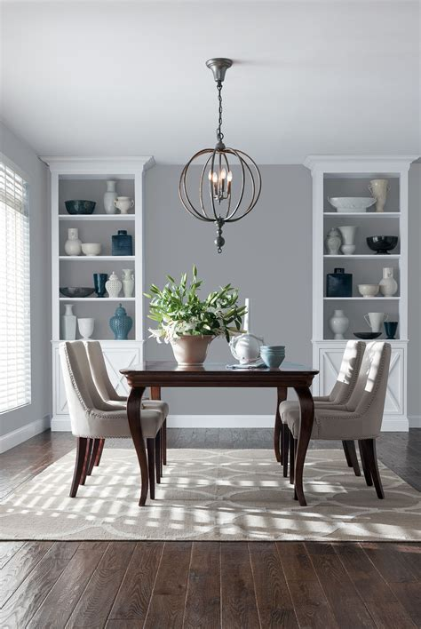 color month november 2017 neutral gray dining room