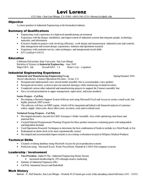 engineering college student resume exles 4 resumes formater
