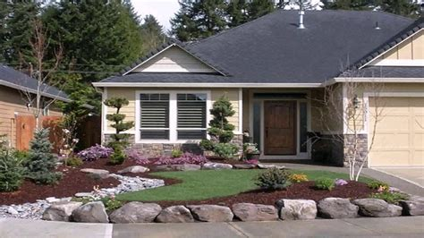 small front yard landscaping ideas rocks description